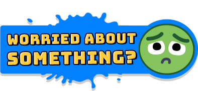 logo worried about something