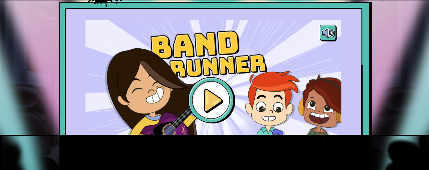 Band Runner for 8-10 year olds